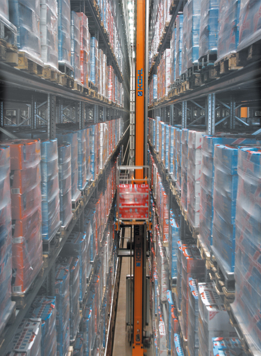 K hl ag automatic storage and retrieval systems for Storage bay